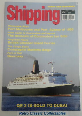 Shipping Today and Yesterday - No.210 - August 2007