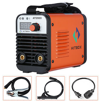 HITBOX AT2000 ARC Welder 110V 220V Dual Volt Rod Stick  Inverter Welding Machine