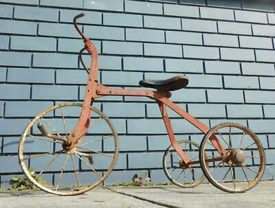 Early 1900s Australian? Antique Childs Tricycle Bike