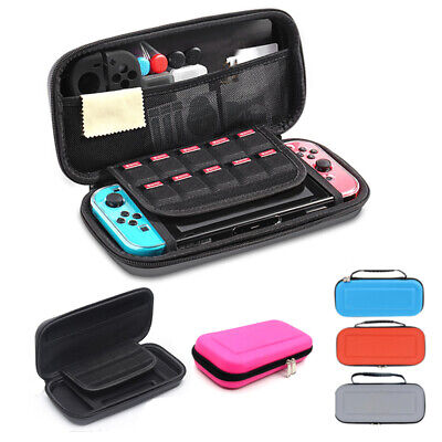 For Nintendo Switch Carrying Case Hard Shell Portable Cover Travel Zipper Bag US