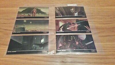 Star Wars ANH Widevision Topps Finest Chromium Chase Card Set C1-C10