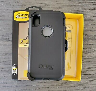 OTTERBOX Defender Series Case For Apple iPhone XR+Free Tempered Glass Gift