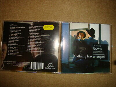 David Bowie : Nothing Has Changed: The Very Best of Bowie CD 2 discs (2014)