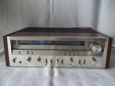 Vintage Pioneer Stereo Receiver SX-3800 all ports Tested and work