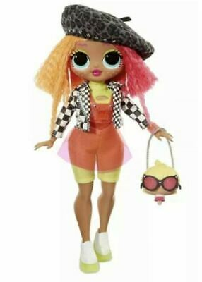 LOL Surprise OMG NEONLICIOUS Fashion Doll In Hand