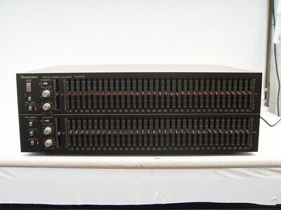 Technics SH-8075 Stereo Graphic Equalizer / guter Zustand
