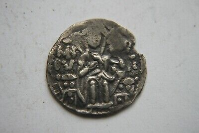 ANCIENT BYZANTINE SILVER ANDRONICUS II COIN 13th CENTURY AD