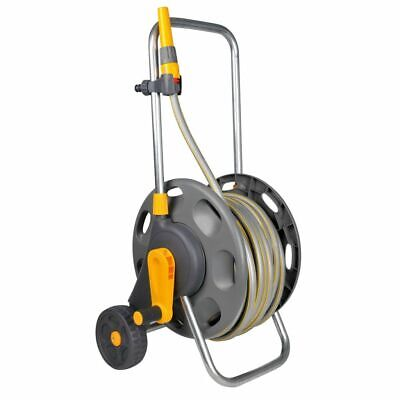 Hozelock Assembled Hose Reel Holder Cart Trolley Watering Garden Pipe 2435R0000#