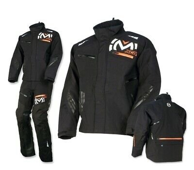 Moose Regenjacke Motocross MX Enduro Jacket schwarz