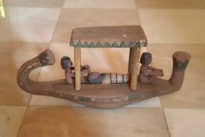Ancient Egyptian Antiquities Boat of God Khnum (172– 2 BC)