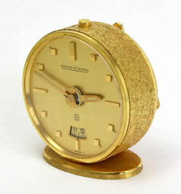 8 Days Jaeger Lecoultre Swiss Travel Alarm Clock / 8-day Cal. 240/3