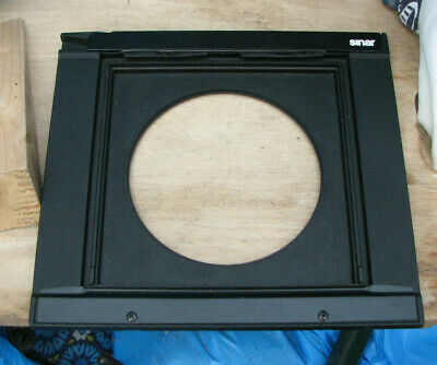 genuine heavy Sinar F & P  lens board panel with 102.4mm hole