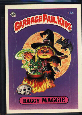 1985 Topps Garbage Pail Kids 1st Series #16b Haggy Maggie (NM/MT) *699089