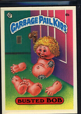 1985 Topps Garbage Pail Kids 1st Series #6b Busted Bob (Mint) *699077