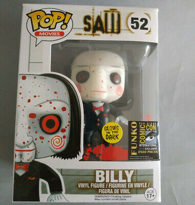 Funko POP Movies Saw Billy Bloody Custom #52 Comic-Con 2014 Exclusive