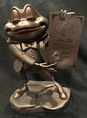 "D23 EXPO 2019 MR TOAD 70th Anniversary ""Bronze"" Figurine Mint!!!   LE 50!!!!"