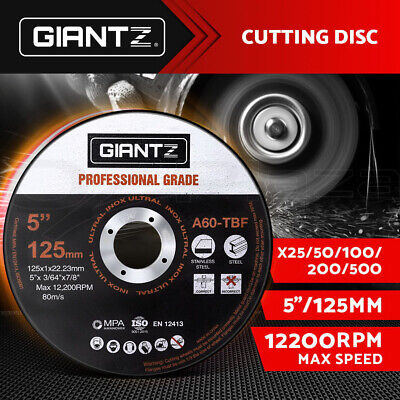 Giantz Cutting Disc 125mm Metal Cut Off Wheel Angle Grinder Thin Steel