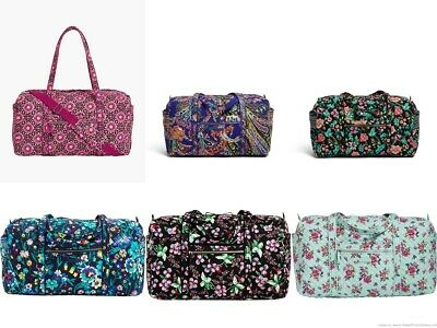 NWT Vera Bradley Large Duffel, Travel Carry On, Weekend, Overnight MSRP $85-$108
