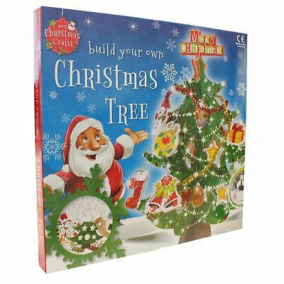 Build Your Own Cardboard Christmas Tree and Decorations - Age 6+