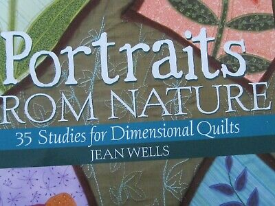 Quilting Book  -- Portraits from Nature