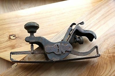 Outstanding KUNZ Vintage Collectible Circular Woodworking Plane XIX-XX century