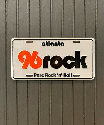 96 Rock Car Tag