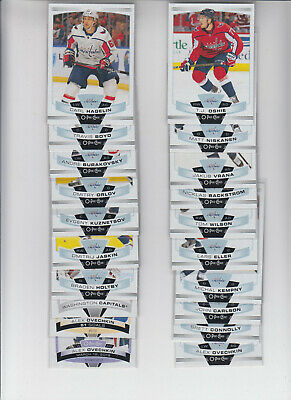 19/20 OPC Washington Capitals Team Set with Inserts - Ovechkin Oshie +