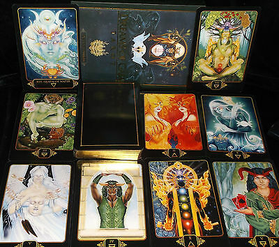 Open For Pics New! Dreams Of Gaia Tarot Card & Book Oracle Cards Are Not Gilded