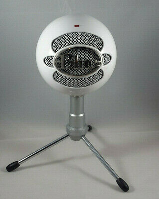 USB Mic Blue Microphones Snowball Ice USB Microphone White Tested