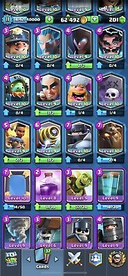 Clash Royale Account Level 10 All Cards 10 00 Picclick