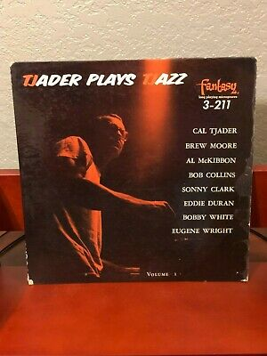 Cal Tjader Plays Latin Jazz Rare Singed Autograph Photo Record Album