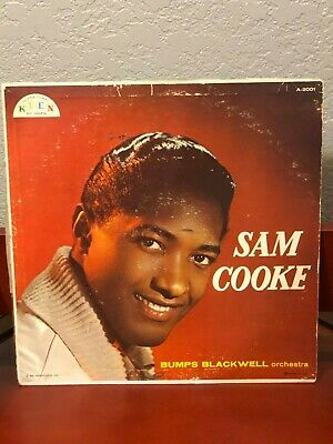 Sam Cooke R&B Singer Civil Rights Rare Singed Autograph Photo Record Album COA