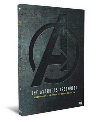 Marvel Avengers 1-4 (1 2 3 4) DVD Complete 4-Movie Collection - Includes Endgame
