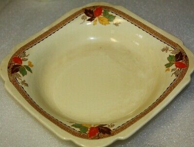Myotts Staffordshire square bowl Made in England 3211 vintage bowl antique bowl