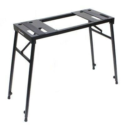 Soundking steel keyboard table DJ stand height adjustable foldable