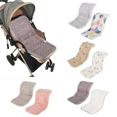 Washable Soft Baby Kid Stroller Pram Pushchair Car Seat Liner Pad Mat Cushion AU