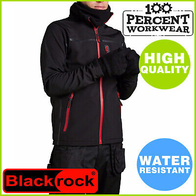 High Quality Water Resistant Breathable Mens Soft Shell Work Jacket Softshell