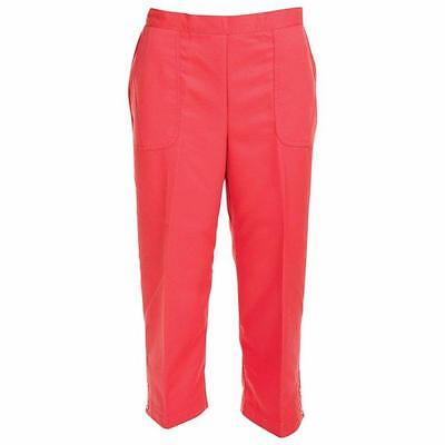 ALFRED DUNNER® Plus Size 24W Cozumel Coral Capri Pants NWT $52
