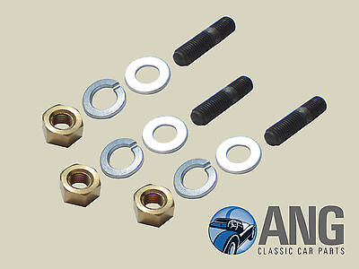 Triumph Dolomite 1300, 1500, 1500Hl Exhaust Downpipe To Manifold Stud & Nut Kit
