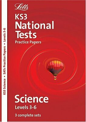 Letts Key Stage 3 Practice Test Papers - KS3 Science 3-6 National Test Practic,