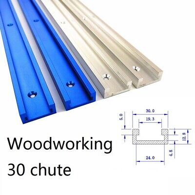 Aluminium Alloy T-Slot Miter 600mm 24Inch T-Track Spout Stool for Router Table