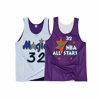 Magic Mitchell and Ness Mens Reversible NBA O'Neal Hardwood Classic Jersey - New