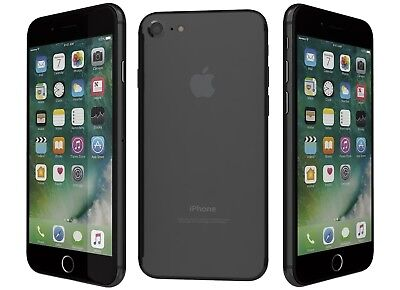 New Overstock Apple iPhone 7 32GB Black for Verizon Network
