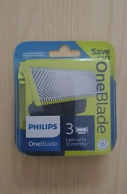 Philips OneBlade Replacement Blades Refill  - Triple 3 Pack (SALE)