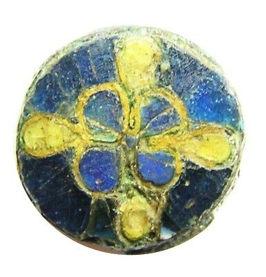 10th - 11th century A.D. Anglo-Scandinavian Cloisonné Enamel Brooch from Essex