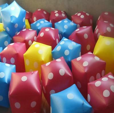 favor parties Toy pool large inflatable dice M7N3