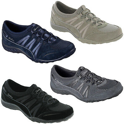 SKECHERS BREATHE EASY Moneybags Shoes Navy Blue 6 23020
