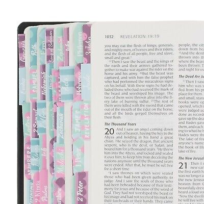 Bible Indexing Tabs for Women Cute, Colorful Bible Study Accessories Journaling