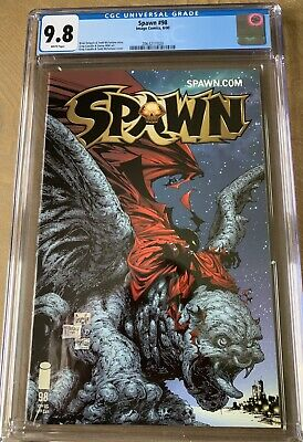 Spawn #98 CGC 9.8 NM/MT IMAGE COMICS TODD McFARLANE