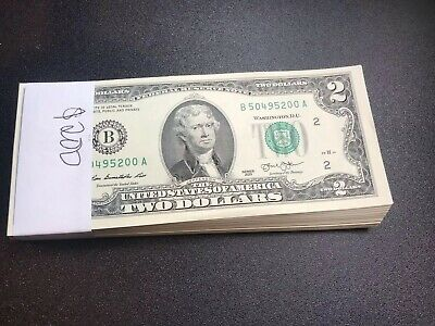 BILL STAR NOTES in 10-Page ALBUM 2003 10 Consecutive Serial # Uncirculated $2
